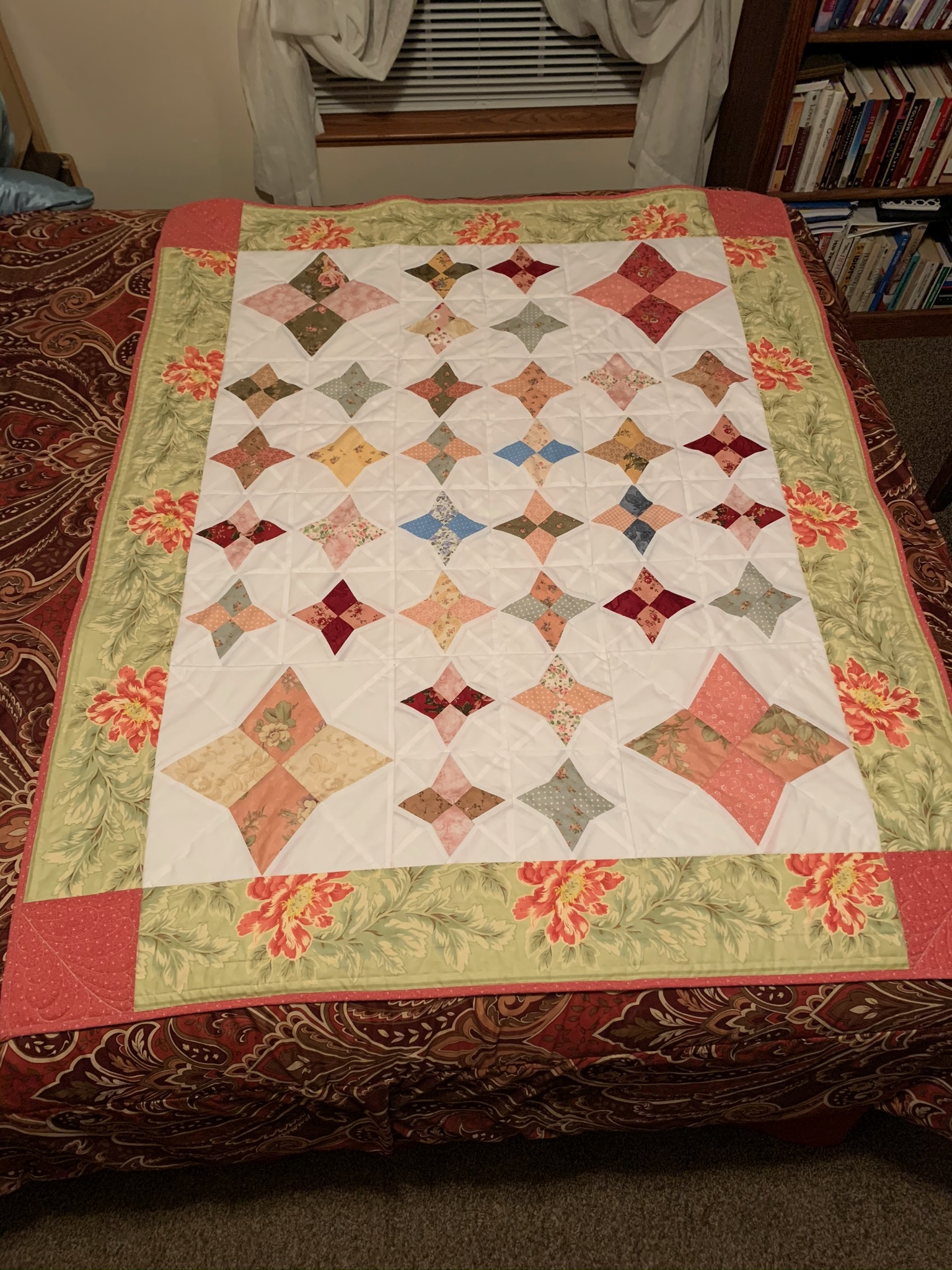 My Journey To Making A Periwinkle Quilt
