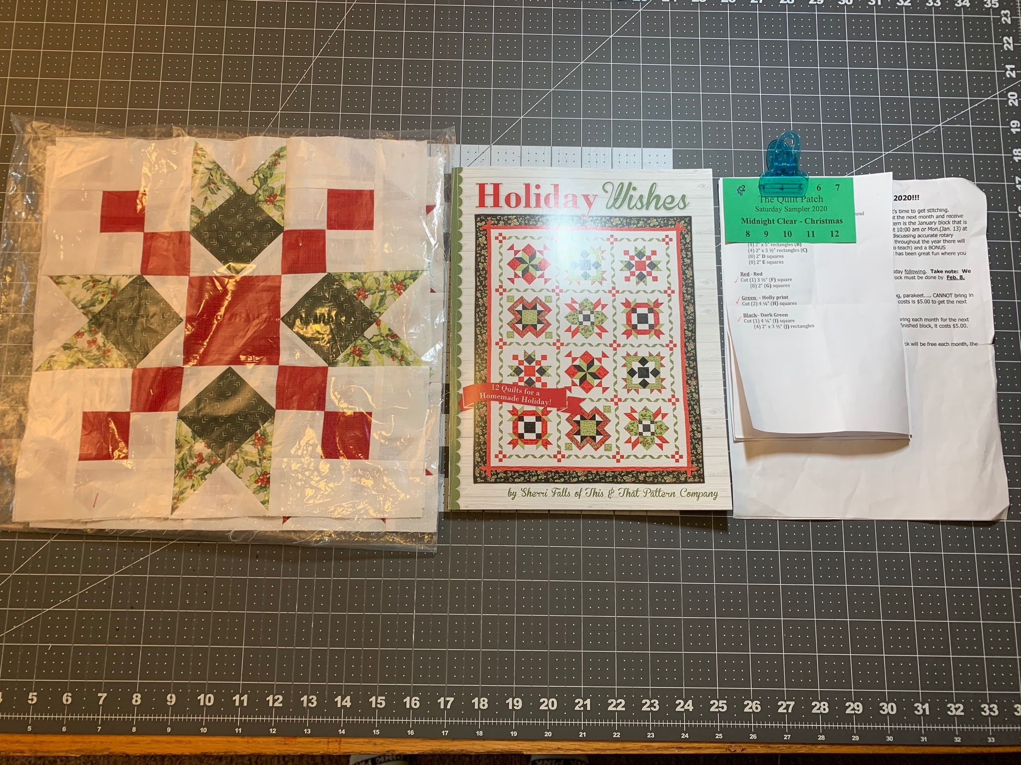 Playing With The Block Layout On My Block Of The Month #3