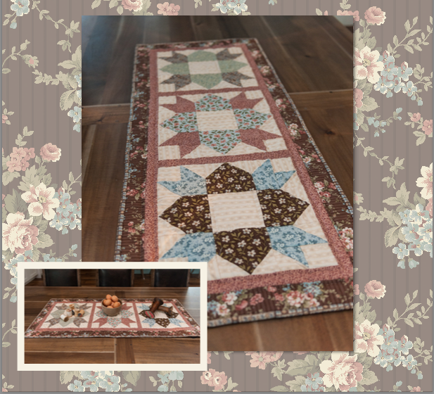 Table Runner and Place Mat