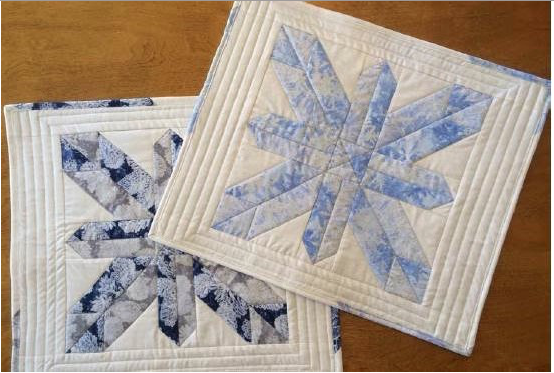 10 Free Winter Themed PDF Quilt Patterns