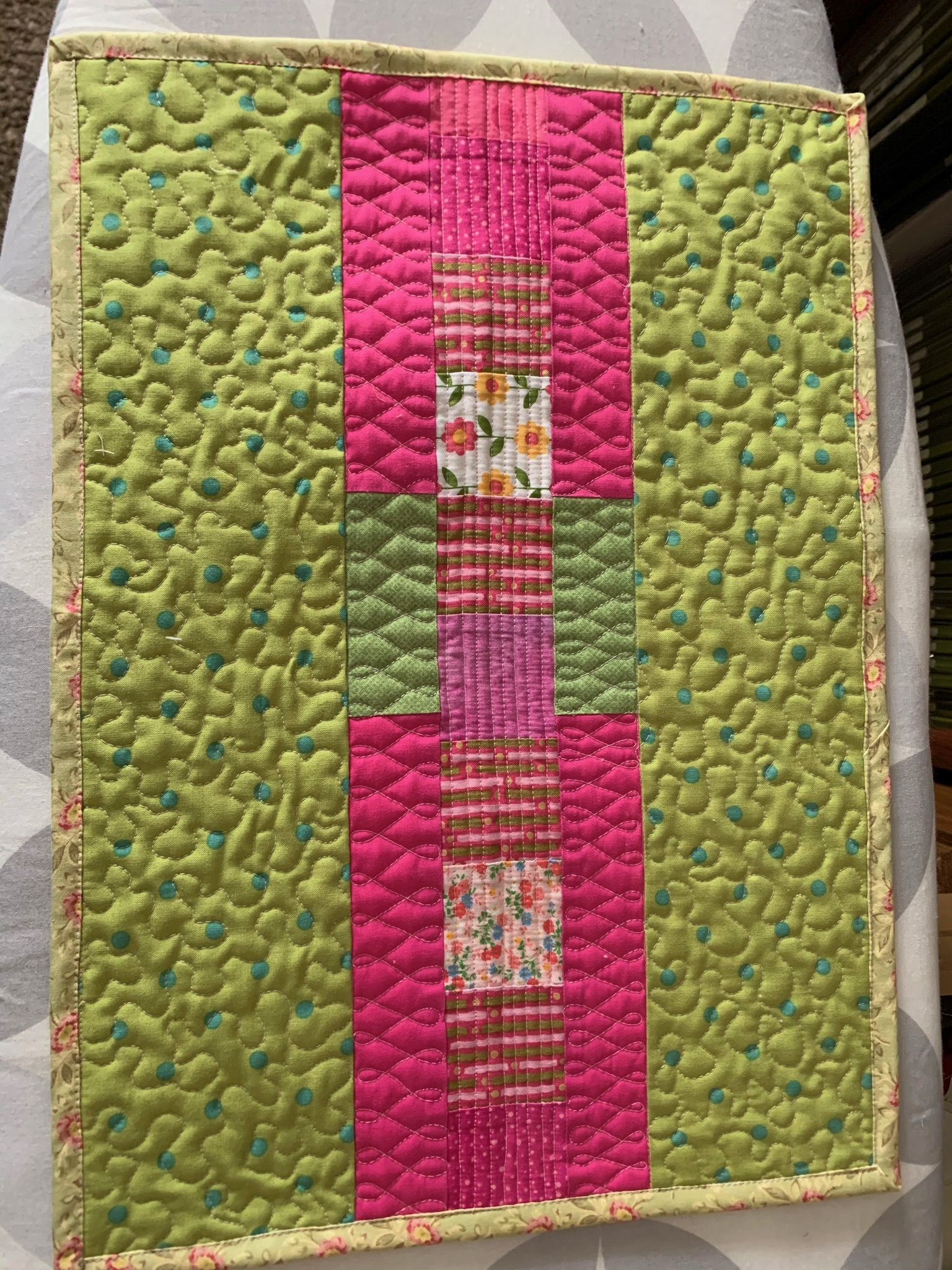 Quilted Placemats for Charity
