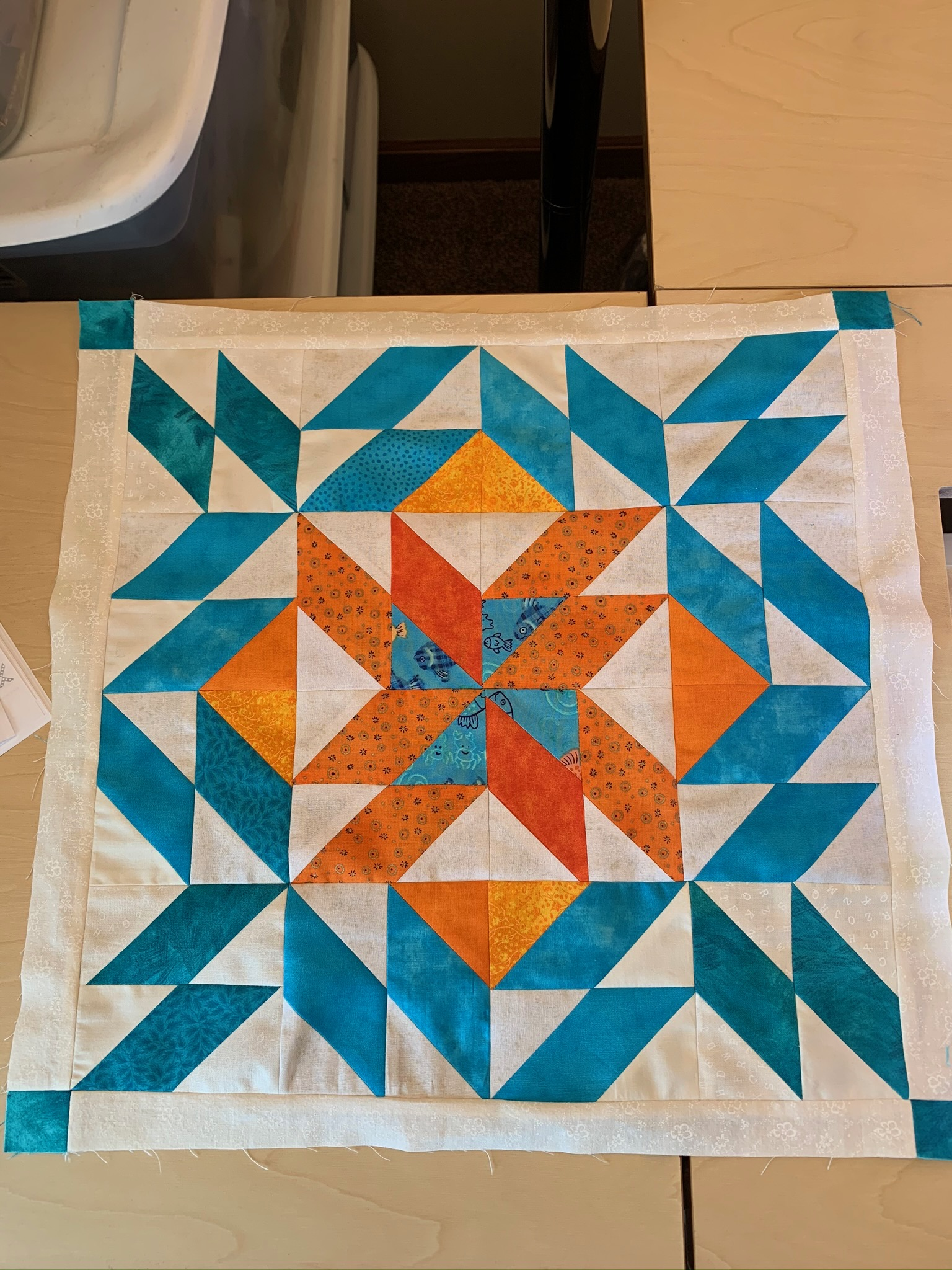 Participating in the Unity Quilt Along